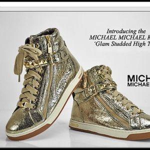 Michael Kors Gold High Tops